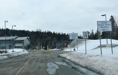 U.S./Canada border closed