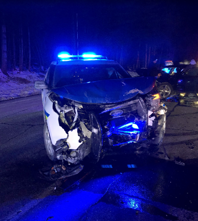 Woodstock Woman Lincoln Officer Hurt In Car Cruiser Crash Public