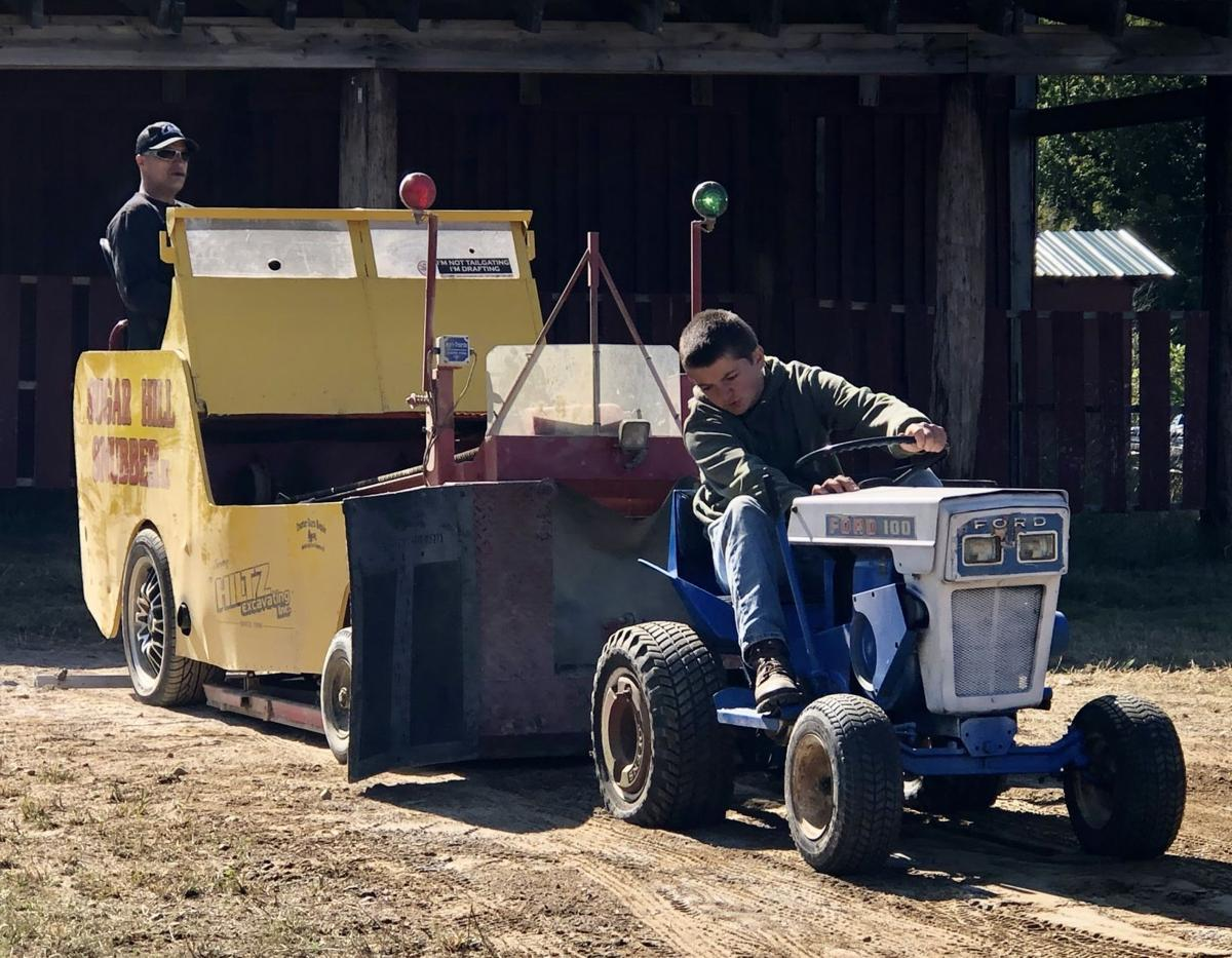 Belknap County tractor pull