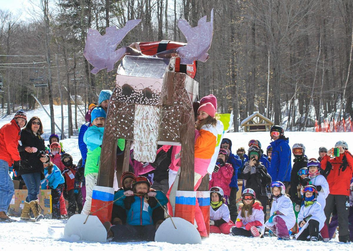 Winter Notes: Spring weekends get wacky on the slopes