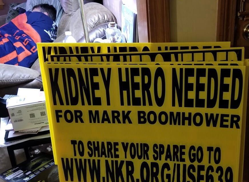 For Sandown man, hunt for a kidney donor is like finding 'needle in