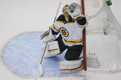 NHL: Eastern Conference Qualifications-Boston Bruins at Washington Capitals