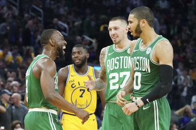 NBA: Boston Celtics at Golden State Warriors