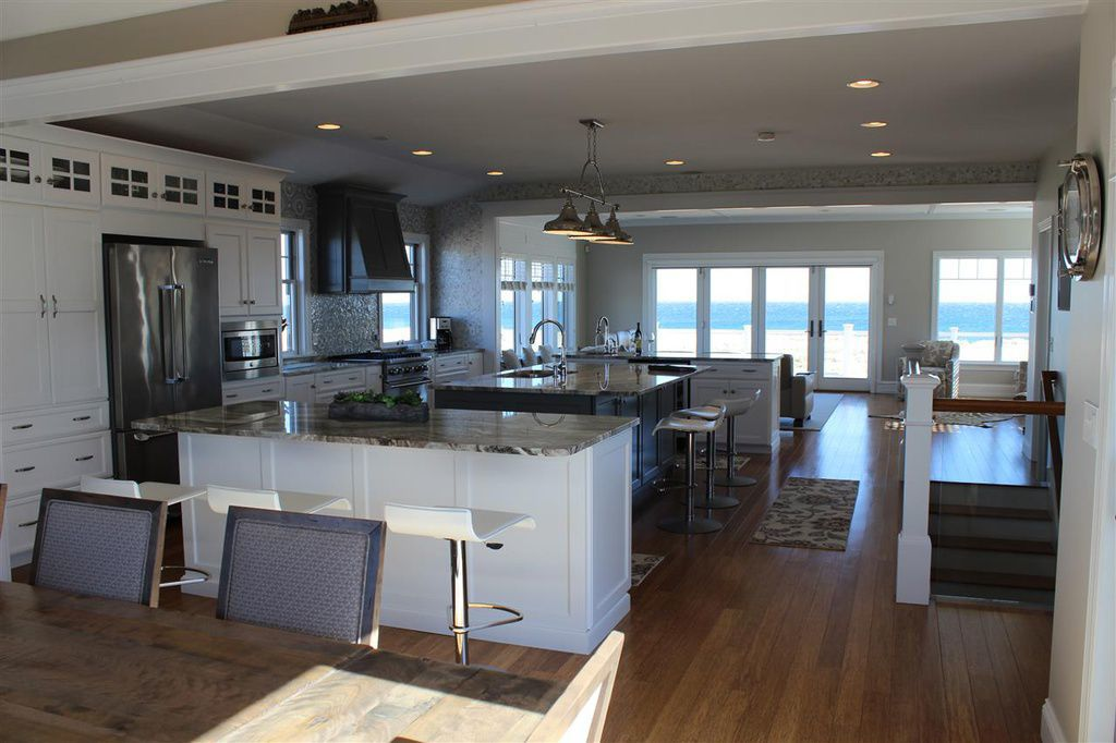Seabrook home, interior