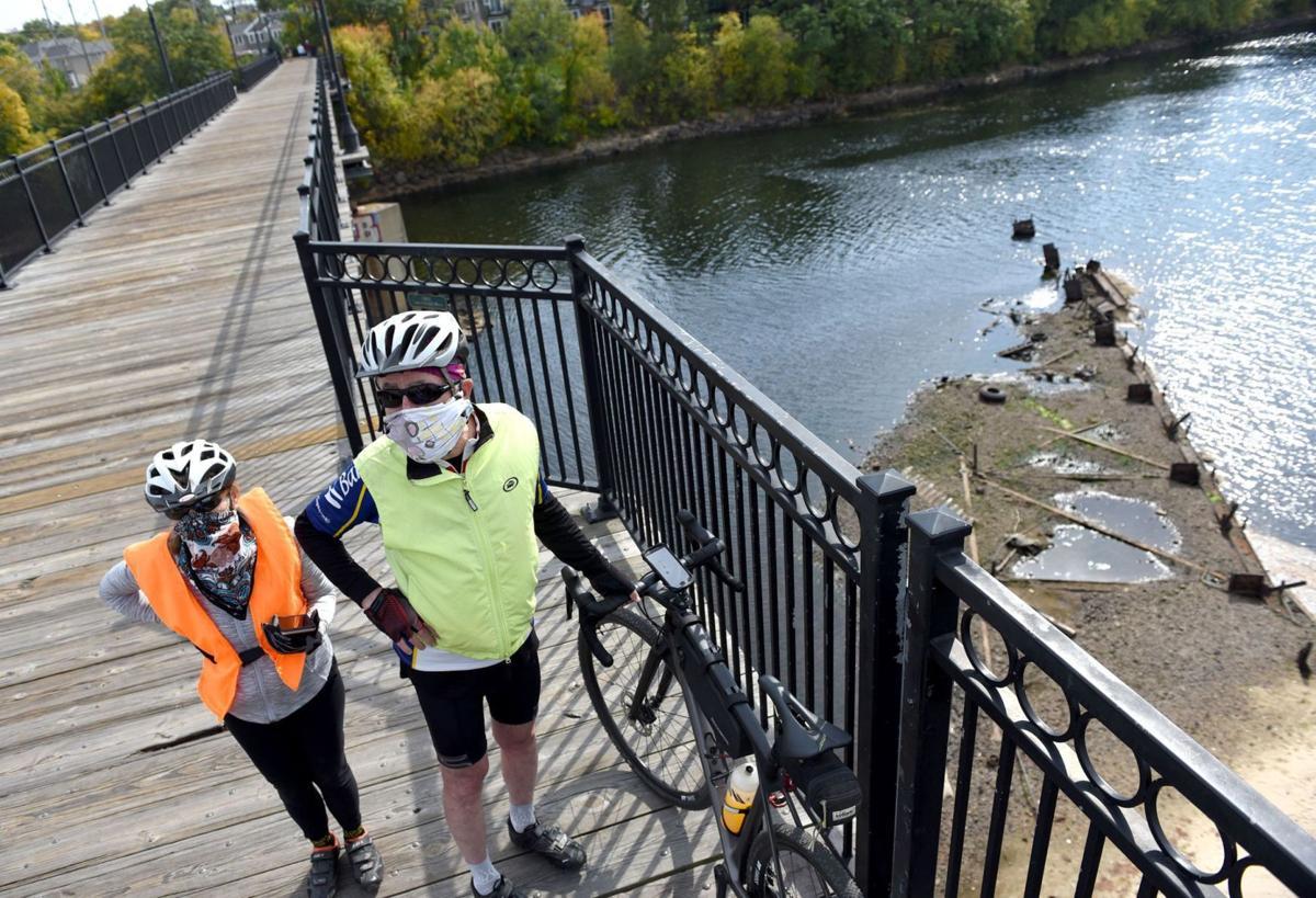 View from Hands Across the Merrimack Bridge
