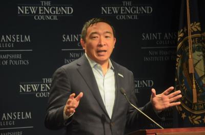 Andrew Yang at  St. As