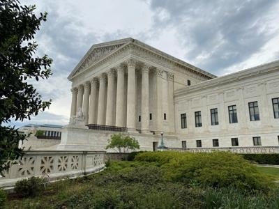 FILE PHOTO: A general view of the United States Supreme Court in Washington