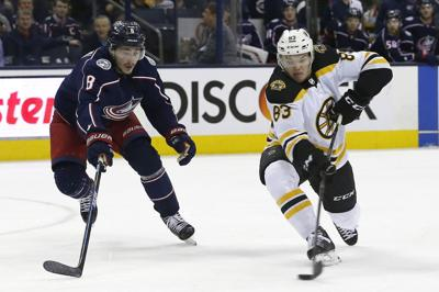 NHL: Boston Bruins at Columbus Blue Jackets