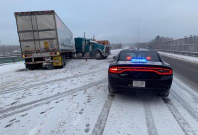 Utah trucker cited for causing I-93 crash