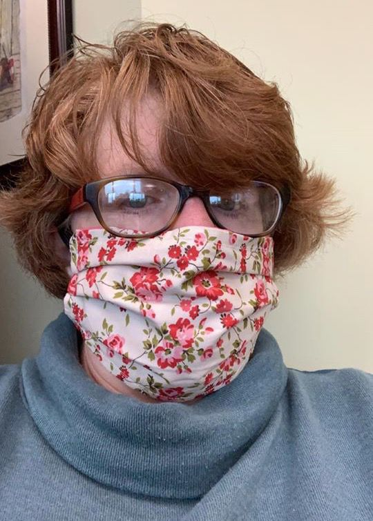 Sewing surgical masks