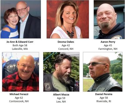 7 Victims Of Deadly Randolph Crash Identified Four From Nh Public