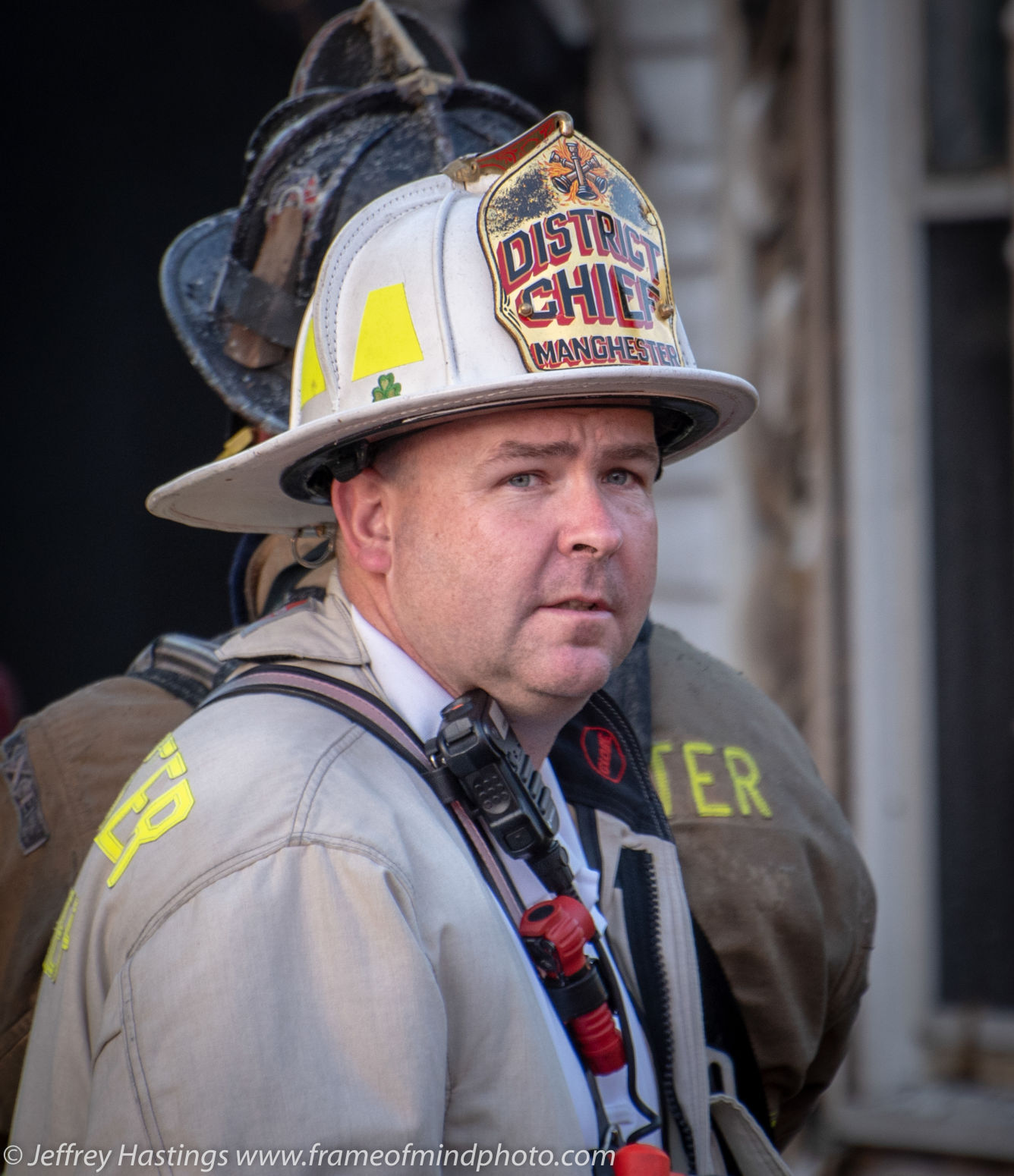 Grief counselors called in as Manchester firefighters grieve loss of Asst. Chief Burns