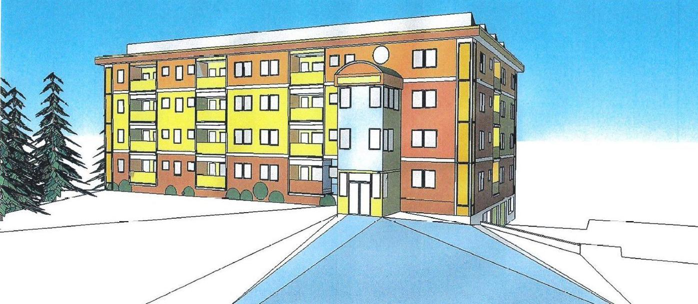 Proposed condos on South Mammoth Road