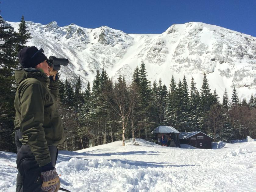 Avalanche season has begun in Presidential Range, with 2 human-triggered slides since November