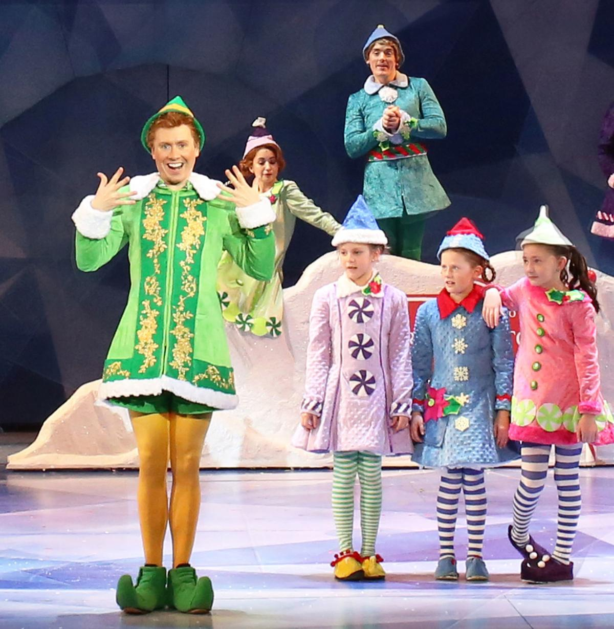Steven Booth stars in 'Elf the Musical' at Portsmouth's Music Hall
