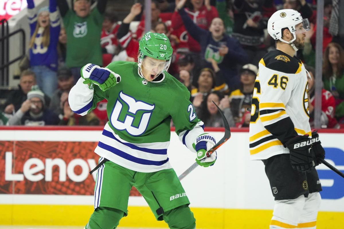 7955c382e38 Canes have a Whale of a game | Bruins | unionleader.com