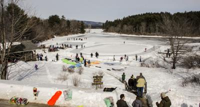 Enjoy the outdoors at Winterfest at Squam Lake