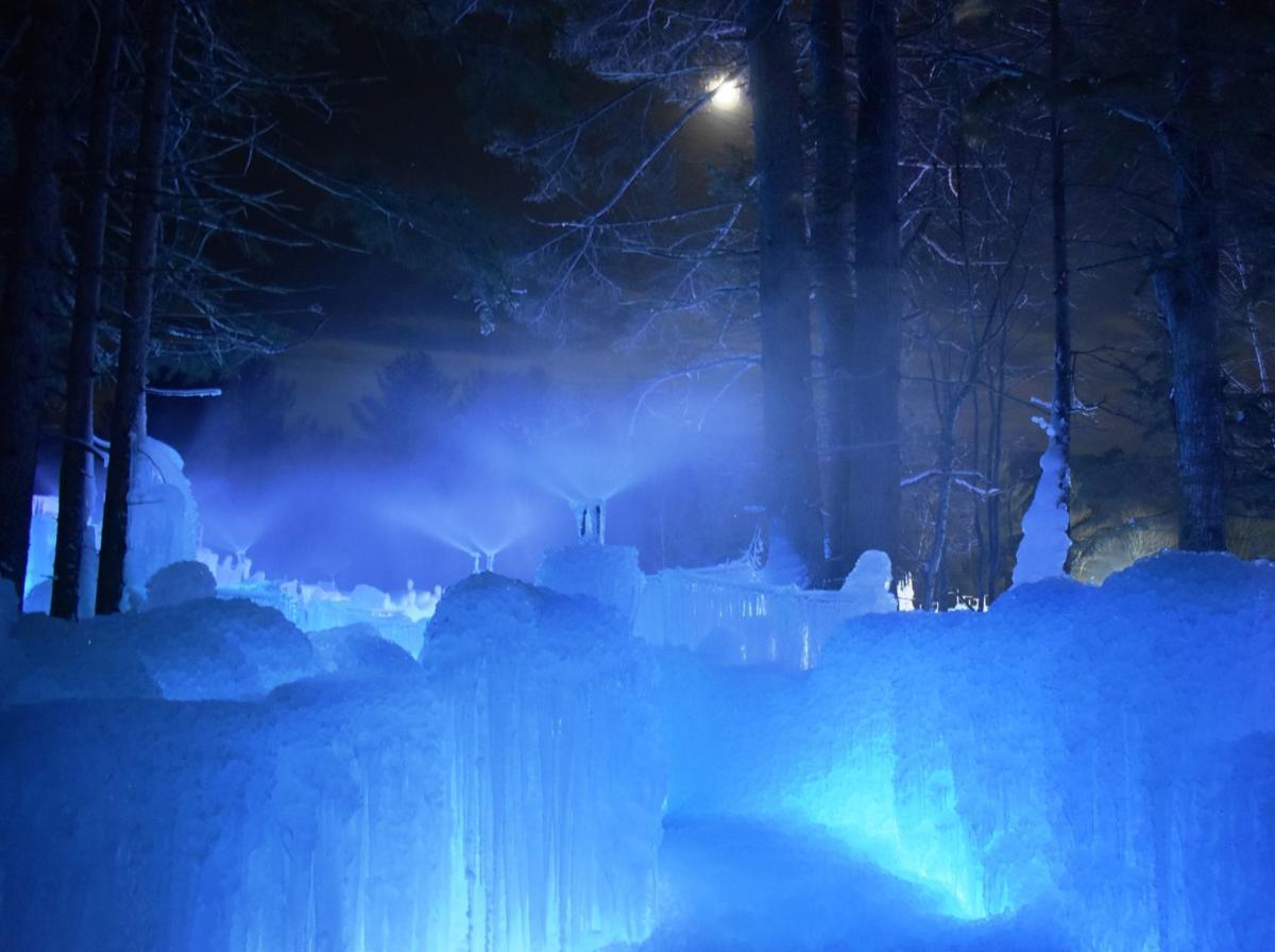 Ice Castle sprinklers