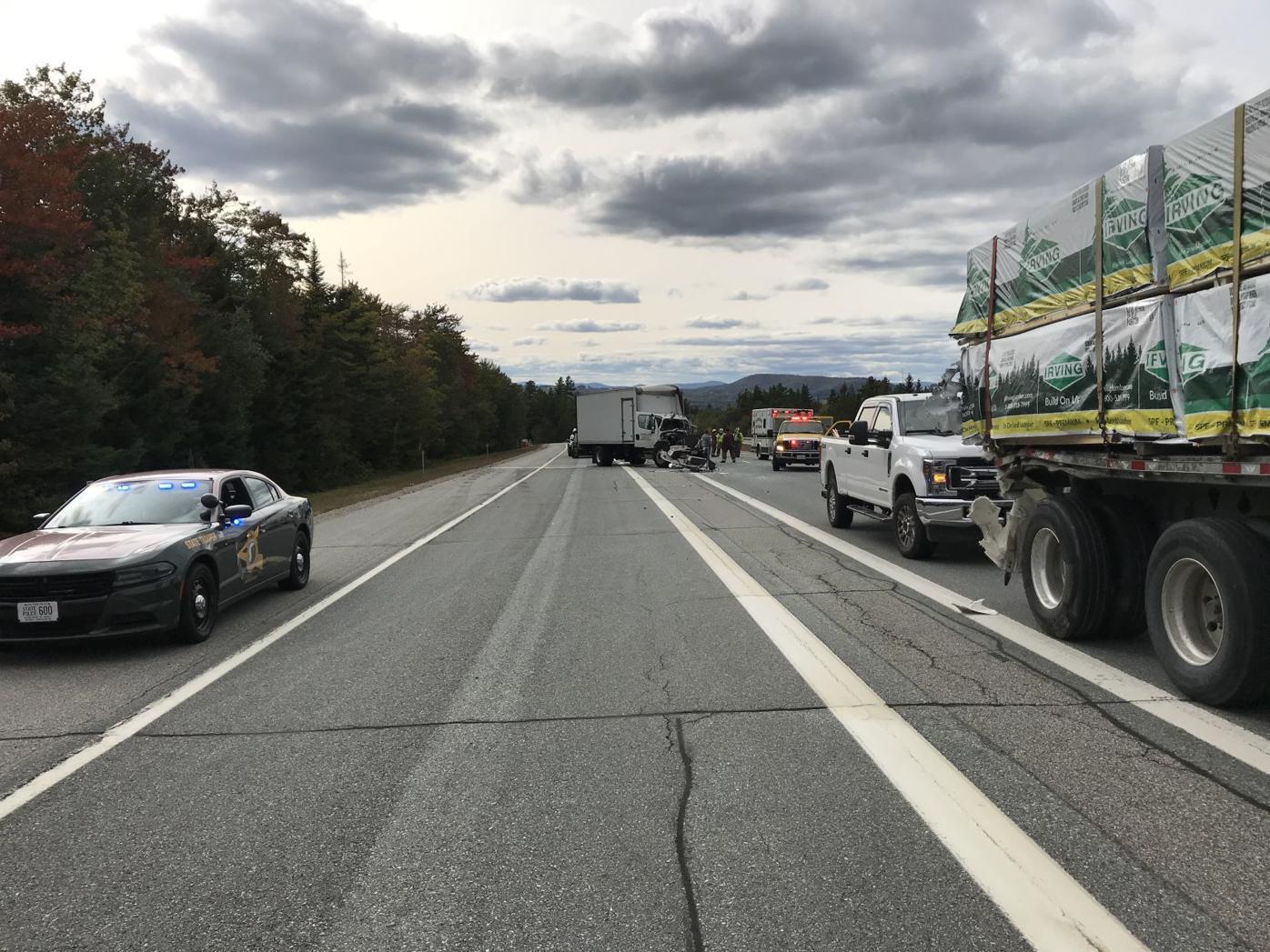 Box truck accident