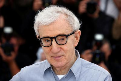 """FILE PHOTO: Director Woody Allen poses during a photocall for the film """"Cafe Society"""" out of competition, before the opening of the 69th Cannes Film Festival in Cannes"""