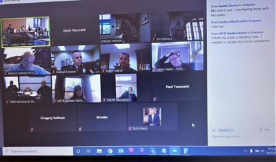 PSTC Zoom meeting