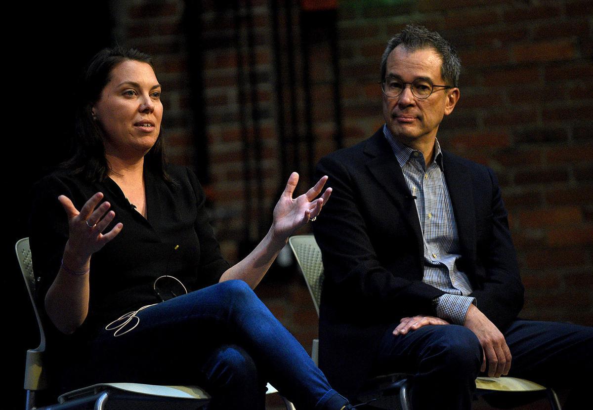 Sara Stewart and Alan Chong