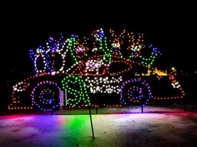Loudon Christmas Lights 2020 Gift of Lights Thanksgiving evening at NH Motor Speedway | Holiday