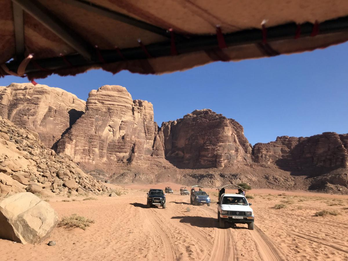 Travel: In Jordan's desert, a blockbuster adventure worthy of Hollywood
