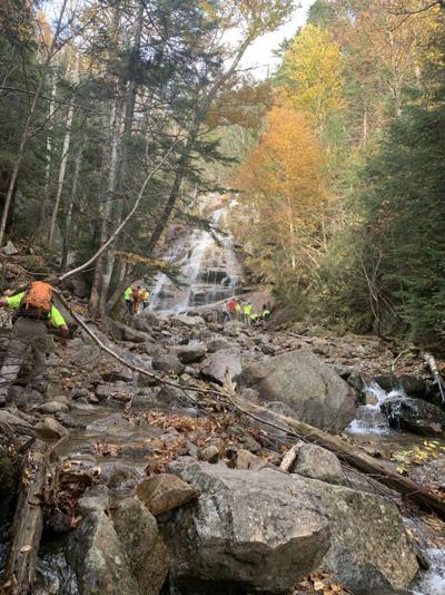 Hiker hurt at Cloudland Falls