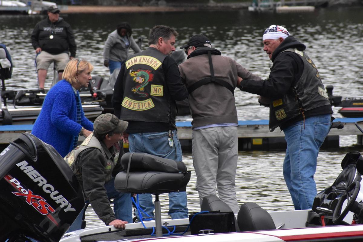 Veterans bass fishing tournament on Lake Winnipesaukee