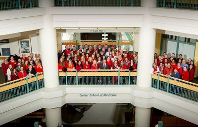 DHMC Wear Red Day