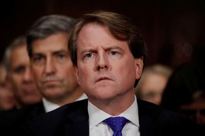 White House coounsel Don Mcgahn