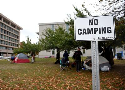 Court camping