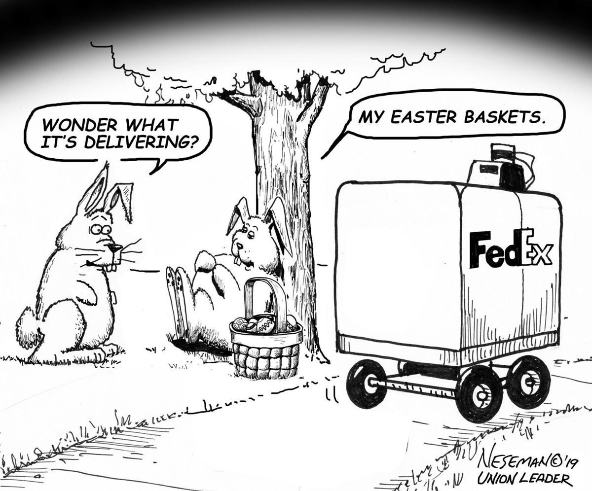 Editorial Cartoon, April 21, 2019