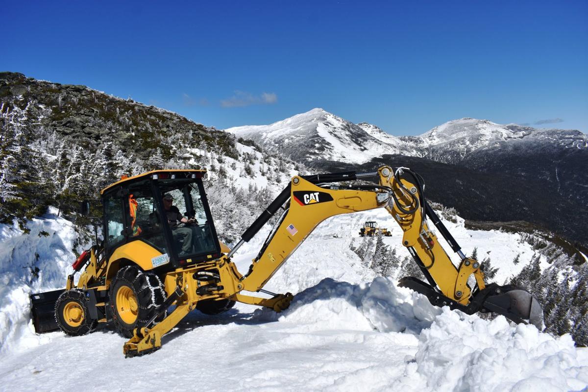 Clearing Mount Washington Auto Road