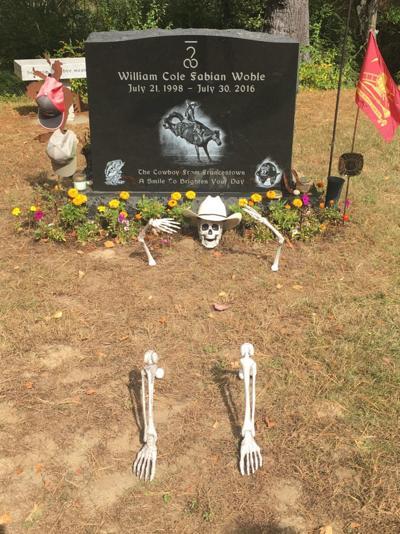 Francestown skeleton grave