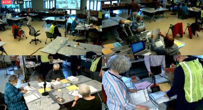 Volunteers come to help Windham election audit