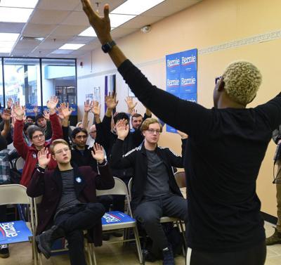 Motivating Bernie Sanders' volunteers
