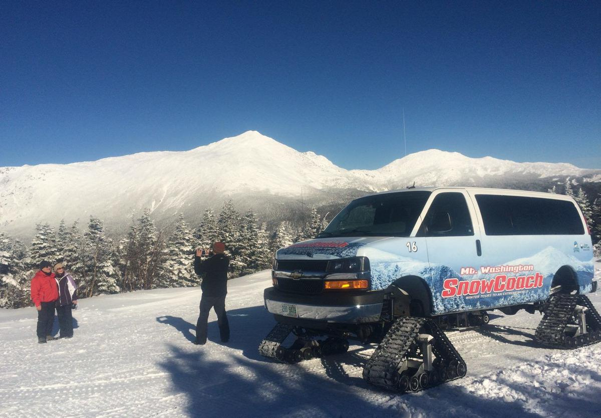 Winter Notes: SnowCoach tour gives passengers a taste of  Mt. Washington in winter