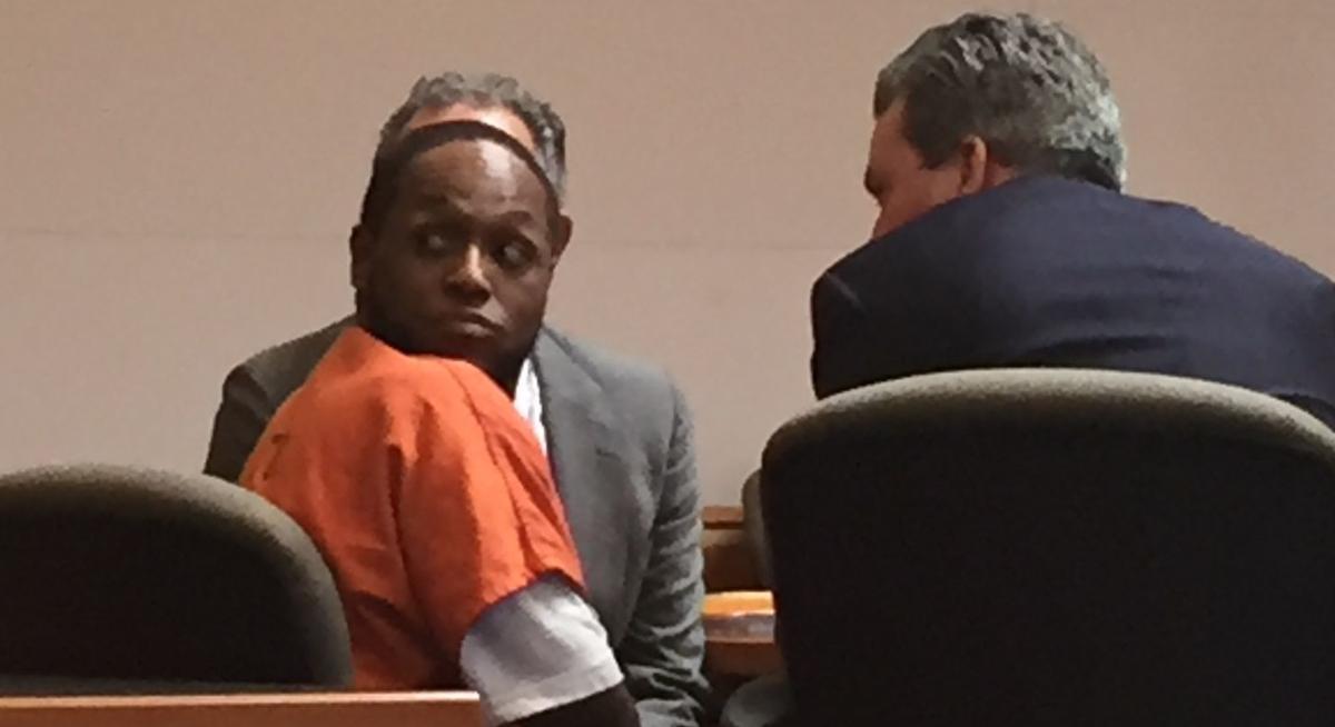 Brandon Griffin in court