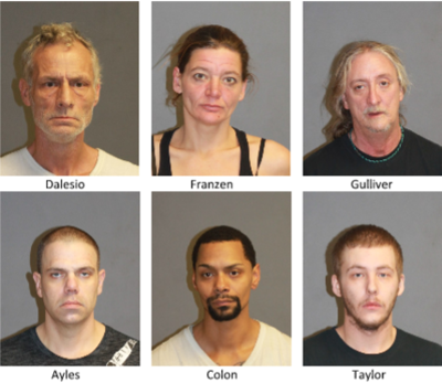 Nashua-Hudson Granite Shield charges 6 with drug crimes