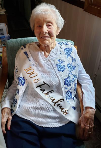 Manchester woman celebrates a century of living