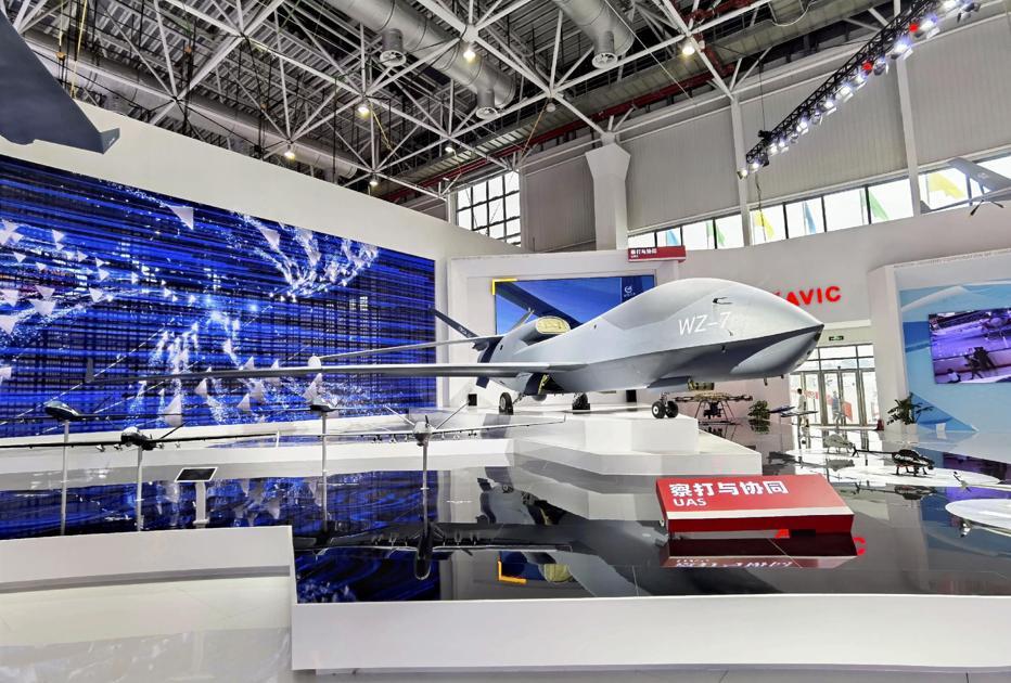 China unveils high-altitude reconnaissance drone