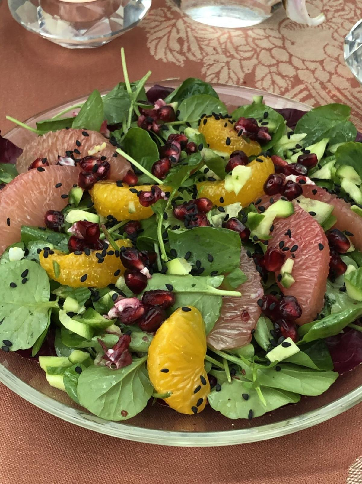 Citrus Watercress Salad
