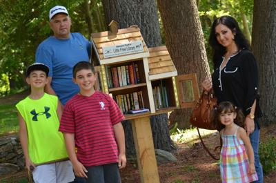 Former Hudson zoo site home to state's newest free library
