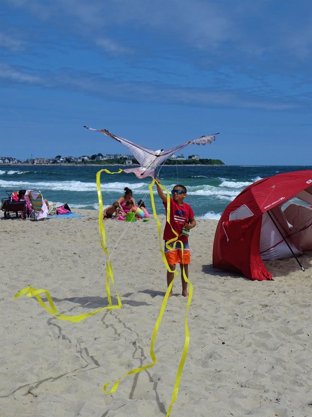 Keeping cool in Hampton Beach