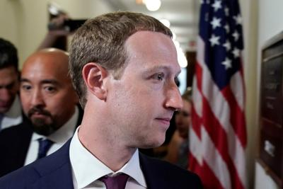 Facebook CEO Zuckerberg visits members of Congress on Capitol Hill in Washington