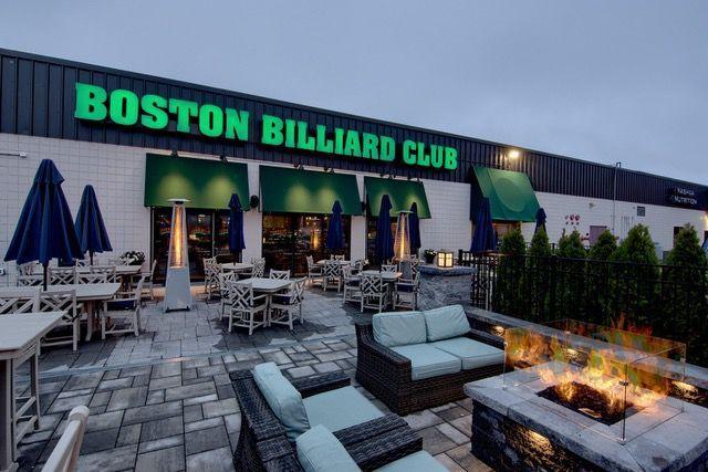 Beer garden and patio