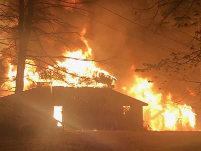 Sallie's Fen Fibers on fire