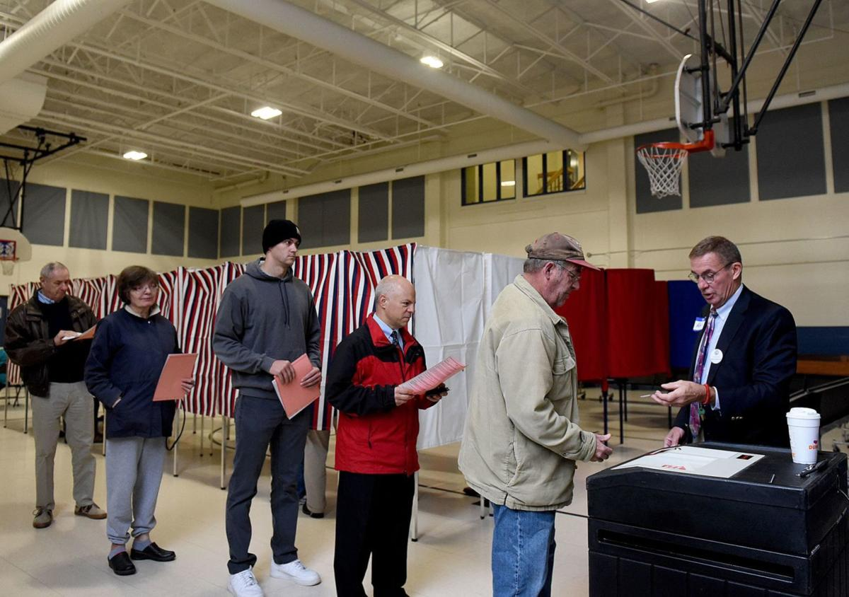 Manchester polls report steady stream of voters